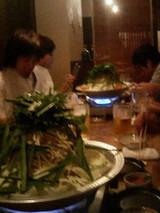 2005.10.31もつ鍋